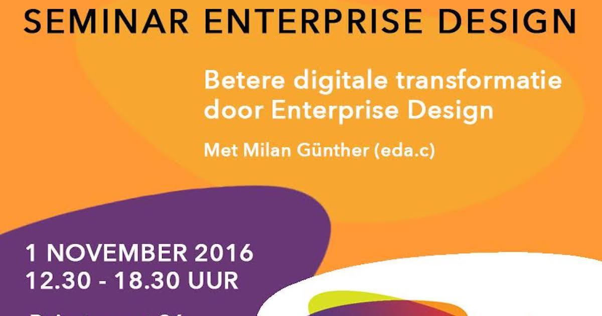 igitale transformatie door Enterprise Design